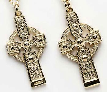 Celtic Cross of Ahenny Pendant