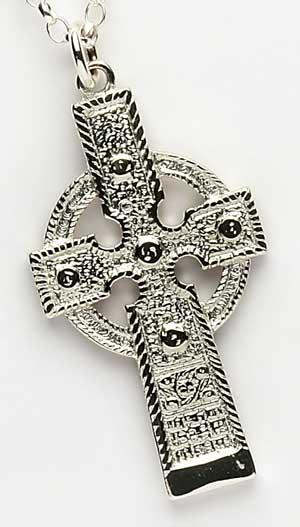 Celtic Cross of Ahenny Pendant
