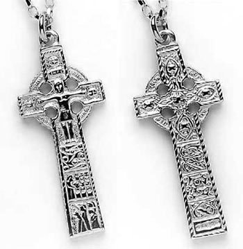 Sterling Silver Cross of Cashel / Croke