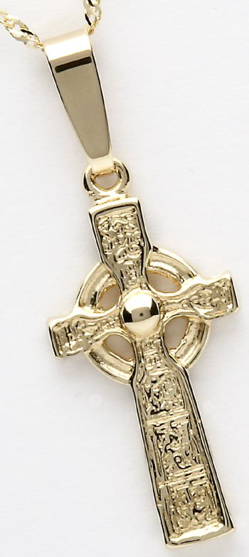 10k Yellow Gold Cross of Duleek