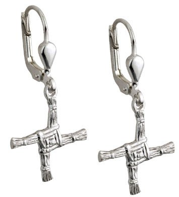Saint Brigid's Cross Earrings