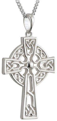 Sterling Silver Filigree Celtic Cross