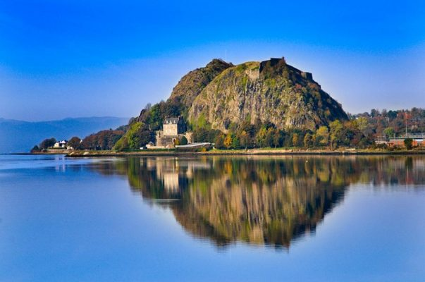 Dumbarton Rock on the Clyde